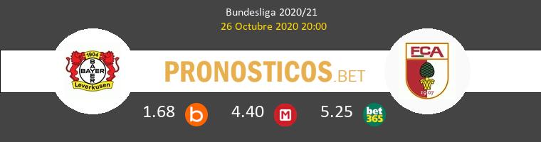 Leverkusen FC Augsburgo Pronostico 26/10/2020 1
