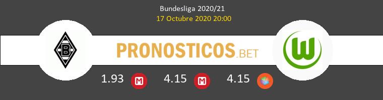 B. Mönchengladbach Wolfsburgo Pronostico 17/10/2020 1
