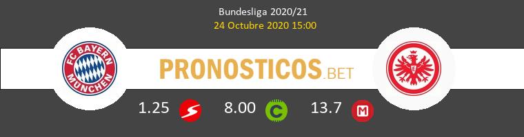 Bayern Munich Eintracht Frankfurt Pronostico 24/10/2020 1