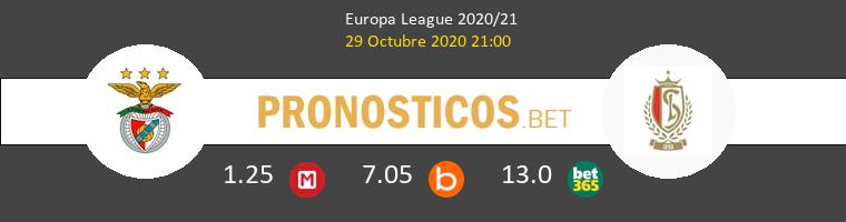 Benfica vs Standard de Liège Pronostico (29 Oct 2020) 1