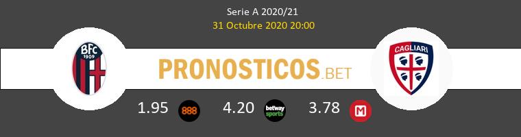 Bologna vs Cagliari Pronostico (31 Oct 2020) 1