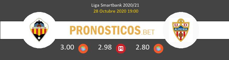 CD Castellón vs Almería Pronostico (28 Oct 2020) 1
