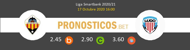 CD Castellón Lugo Pronostico 17/10/2020 1