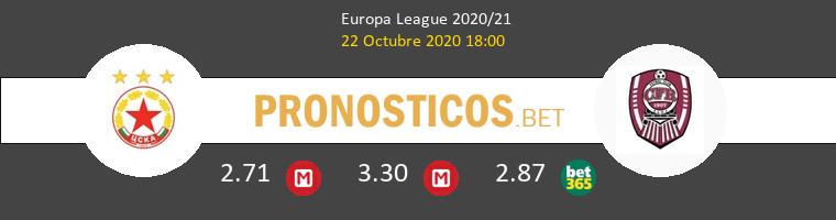 CSKA Sofia CFR Cluj Pronostico 22/10/2020 1