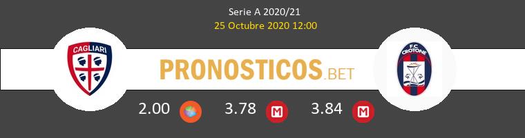 Cagliari Crotone Pronostico 25/10/2020 1