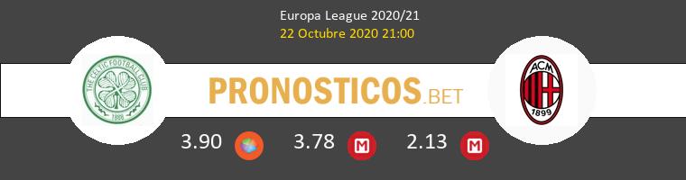 Celtic AC Milan Pronostico 22/10/2020 1