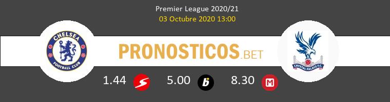 Chelsea Crystal Palace Pronostico 03/10/2020 1