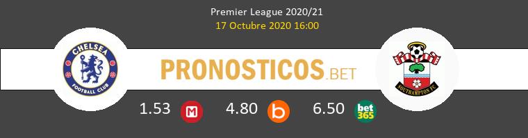 Chelsea Southampton Pronostico 17/10/2020 1