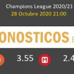 Brujas vs Lazio Pronostico (28 Oct 2020) 5