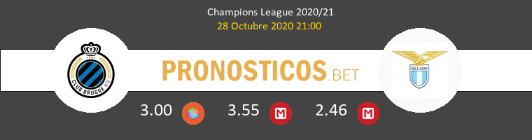 Brujas vs Lazio Pronostico (28 Oct 2020) 1