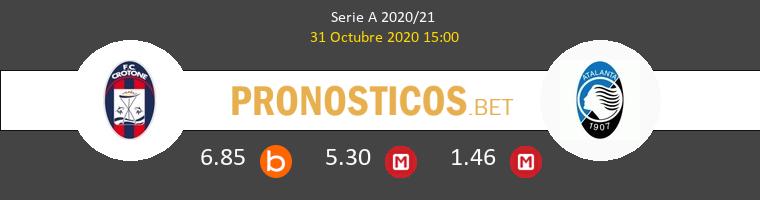 Crotone vs Atalanta Pronostico (31 Oct 2020) 1