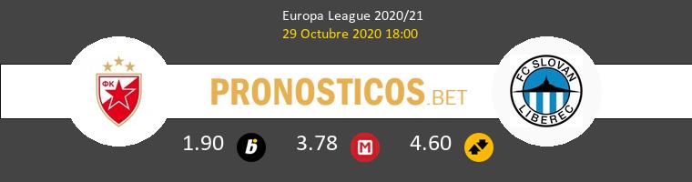 Crvena Zvezda vs Slovan Liberec Pronostico (29 Oct 2020) 1