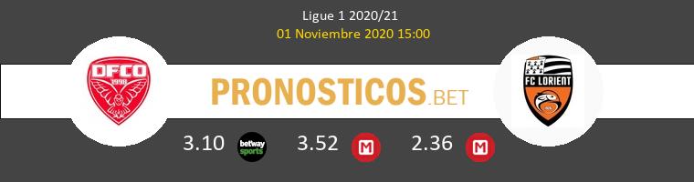 Dijon FCO vs Lorient Pronostico (1 Nov 2020) 1