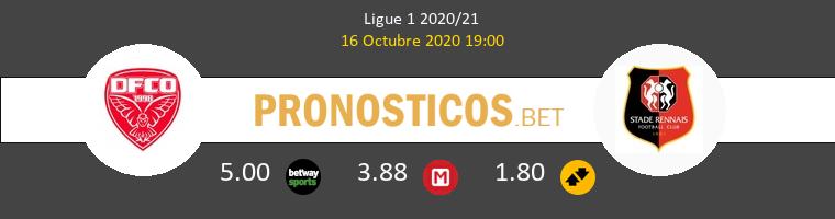 Dijon FCO Stade Rennais Pronostico 16/10/2020 1