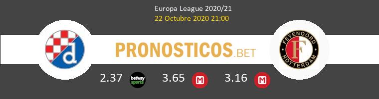 Dinamo Zagreb Feyenoord Pronostico 22/10/2020 1