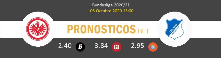 Eintracht Frankfurt Hoffenheim Pronostico 03/10/2020 1