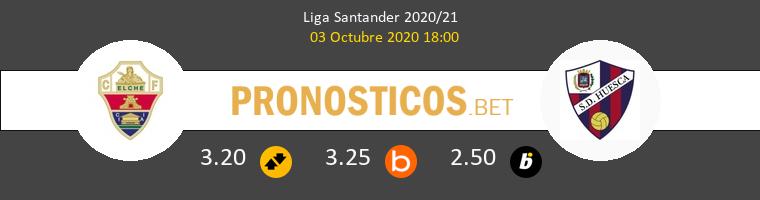 Elche Huesca Pronostico 03/10/2020 1