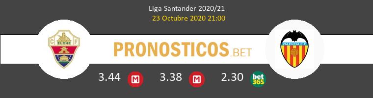 Elche Valencia Pronostico 23/10/2020 1