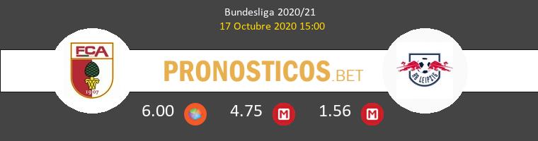 FC Augsburg Red Bull Leipzig Pronostico 17/10/2020 1