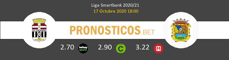 F.C. Cartagena Fuenlabrada Pronostico 17/10/2020 1