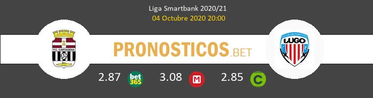 F.C. Cartagena Lugo Pronostico 04/10/2020 1