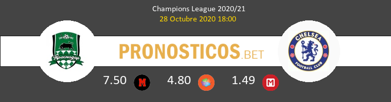 FK Krasnodar vs Chelsea Pronostico (28 Oct 2020) 1