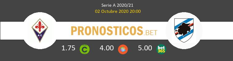 Fiorentina Sampdoria Pronostico 02/10/2020 1
