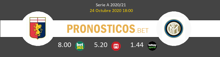 Genova Inter Pronostico 24/10/2020 1