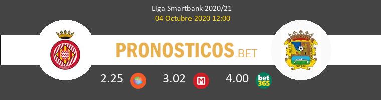 Girona Fuenlabrada Pronostico 04/10/2020 1