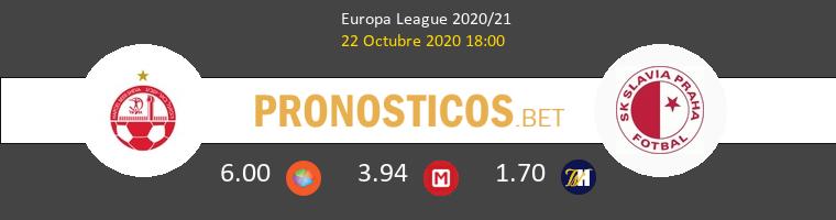 Hapoel Be'er Sheva Slavia Praha Pronostico 22/10/2020 1