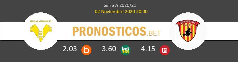 Hellas Verona vs Benevento Pronostico (2 Nov 2020) 1
