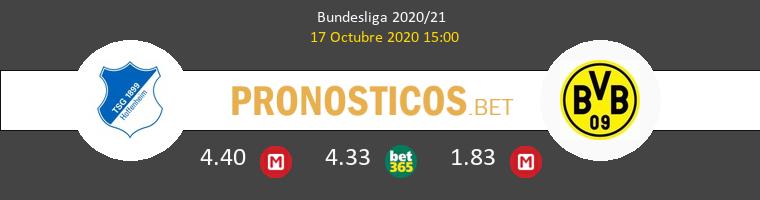 Hoffenheim Borussia Dortmund Pronostico 17/10/2020 1