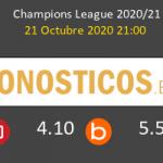 Inter B. Mönchengladbach Pronostico 21/10/2020 2