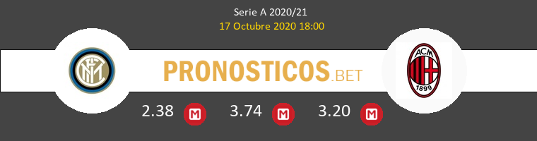 Inter Milan Pronostico 17/10/2020 1