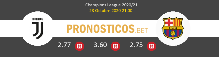 Juventus vs Barcelona Pronostico (28 Oct 2020) 1