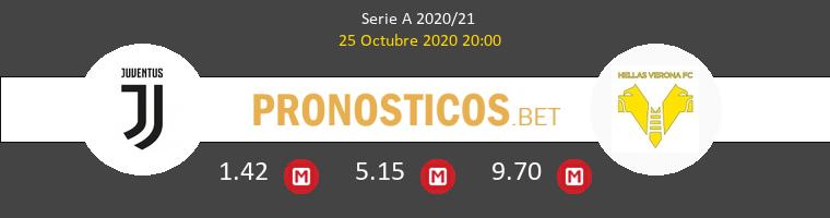 Juventus Hellas Verona Pronostico 25/10/2020 1