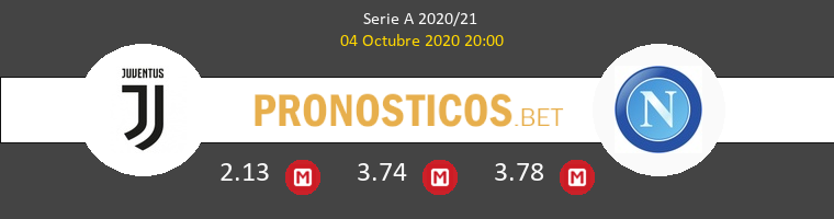 Juventus Napoli Pronostico 04/10/2020 1