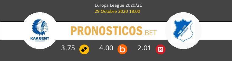 KAA Gent vs Hoffenheim Pronostico (29 Oct 2020) 1