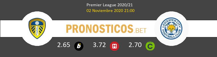 Leeds United vs Leicester Pronostico (2 Nov 2020) 1