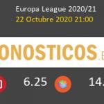 Leicester Zorya Luhansk Pronostico 22/10/2020 2