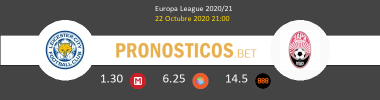 Leicester Zorya Luhansk Pronostico 22/10/2020 1