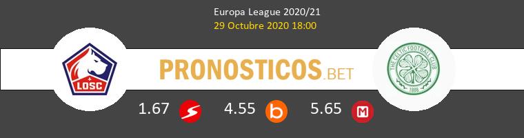 Lille vs Celtic Pronostico (29 Oct 2020) 1
