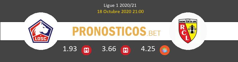 Lille Lens Pronostico 18/10/2020 1