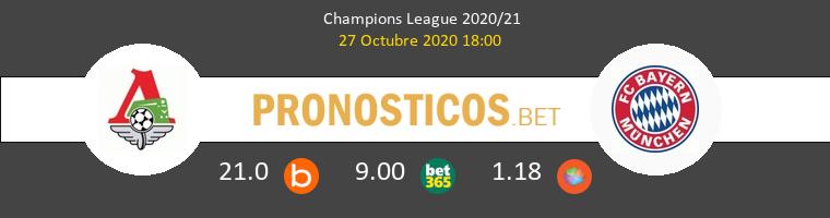 Lokomotiv Moskva vs Bayern Munchen Pronostico (27 Oct 2020) 1