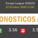 Ludogorets Antwerp Pronostico 22/10/2020 2