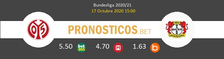 Mainz 05 Leverkusen Pronostico 17/10/2020 1
