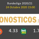 Mainz 05 B. Mönchengladbach Pronostico 24/10/2020 7