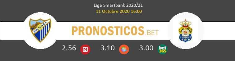 Málaga Las Palmas Pronostico 11/10/2020 1