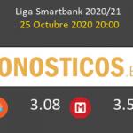 Málaga vs Mirandés Pronostico (25 Oct 2020) 2