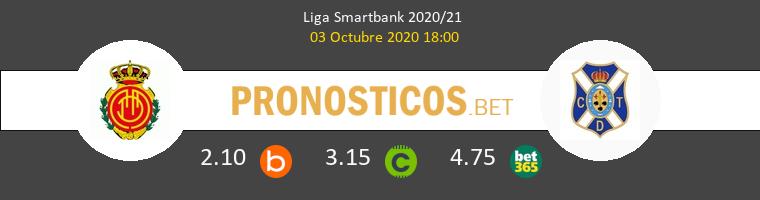 Mallorca Tenerife Pronostico 03/10/2020 1